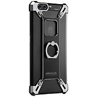 Χαμηλού Κόστους Θήκες κινητών τηλεφώνων-tok Για Huawei Ανθεκτική σε πτώσεις με βάση στήριξης Βάση δαχτυλιδιών Πίσω Κάλυμμα Συμπαγές Χρώμα Σκληρή Μεταλλικό για P10 Plus P10 Huawei