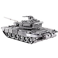 cheap Toy & Game-3D Puzzle Jigsaw Puzzle Metal Puzzle Tank DIY Metalic Kid's Adults' Unisex Gift