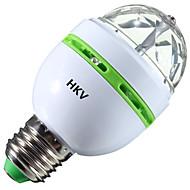halpa LED-pallolamput-HKV 3W 200-300 lm LED-pallolamput 1 ledit Teho-LED RGB