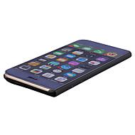 Назначение iPhone X iPhone 8 Чехлы панели со стендом Покрытие Зеркальная поверхность Флип Чехол Кейс для Сплошной цвет Твердый PC для