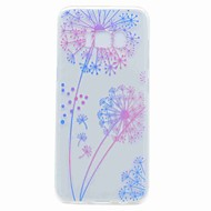 Etui Til Samsung Galaxy S8 Plus S8 Transparent Mønster Bagcover Mælkebøtte Blødt TPU for S8 S8 Plus S7 edge S7 S6 edge S6 S5 Mini S5