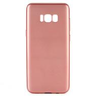 Назначение Чехлы панели Защита от пыли Чехол Кейс для Сплошной цвет Мягкий Термопластик для Samsung S8 S8 Plus