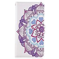 Недорогие Чехлы и кейсы для Galaxy A5(2017)-Кейс для Назначение SSamsung Galaxy A5(2017) A3(2017) Кошелек Бумажник для карт со стендом Флип Чехол Мандала Твердый Искусственная кожа