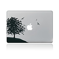For MacBook Air 11 13/Pro13 15/Pro With Retina13 15/MacBook12 Black Tree Decorative Skin Sticker