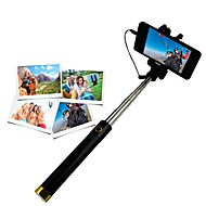 billige -selfie stick selfie stickand til iphone 8 7 samsung galaxy s8 s7 for ios / android telefon huawei xiaomi nokia