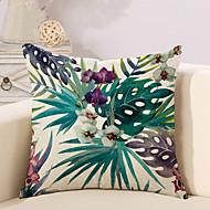 cheap Home Textiles-1 pcs Cotton / Linen Pillow Cover / Pillow Case, Botanical / Novelty / Printing Vintage / Casual / Retro
