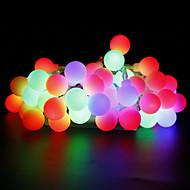 olcso -W Fényfüzérek lm AC 220 AC 110-130 10 m 100 led Meleg fehér Fehér Piros Sárga Kék Rózsaszín Több színű
