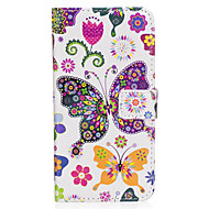 Кейс для Назначение SSamsung Galaxy S8 Plus S8 Кошелек Бумажник для карт со стендом Флип С узором Магнитный Чехол Бабочка Твердый