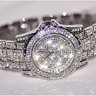 Damskie Do sukni/garnituru Modny Zegarek na nadgarstek Zegarek na bransoletce Unikalne Kreatywne Watch Sztuczny Diamant Zegarek Zegarek