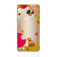 Недорогие Чехлы и кейсы для Galaxy S6 Edge Plus-Кейс для Назначение SSamsung Galaxy S8 Plus S8 Прозрачный С узором Кейс на заднюю панель Геометрический рисунок Мягкий ТПУ для S8 Plus S8