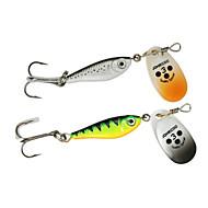 "4 szt Łyżki g/Uncja,85 mm/3-5/16"" cal,CekinSea Fishing Casting Bait Spinning Osadzenia Fishing Wędkarstwo słodkowodne Bass Fishing"