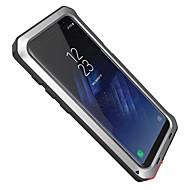 Недорогие Чехлы и кейсы для Galaxy S8-Кейс для Назначение SSamsung Galaxy S8 Plus S8 Вода / Грязь / Надежная защита от повреждений Чехол броня Твердый Алюминий для S8 S8 Plus
