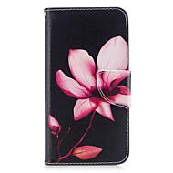 お買い得  携帯電話ケース-ケース 用途 Huawei社P9 Huawei社P9ライト Huawei カードホルダー ウォレット スタンド付き フリップ パターン エンボス加工 フルボディーケース フラワー ハード PUレザー のために P10 Lite P10 Huawei P9 Lite