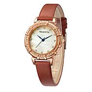 REBIRTH Damskie Zegarek na nadgarstek Modny Chiński Kwarcowy Skóra Pasmo Czarny Biały Brązowy Szary Różowy
