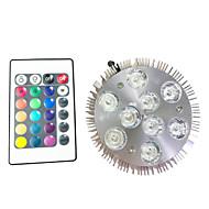 halpa Kasvivalaisimet-9W 450 lm Kasvavat valonheittimet 9 ledit Teho-LED RGB AC 220-240V