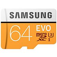 samsung 64gb 마이크로 sd 카드 tf 카드 메모리 카드 100mb / s uhs-3 class10