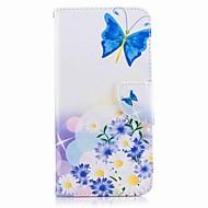 Für huawei p10 plus huawei p10 lite Fall Abdeckung Kartenhalter Brieftasche mit Standfuß Muster Fall voller Körper Fall Schmetterling
