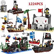 Χαμηλού Κόστους Παιχνίδια και Χόμπι-Τουβλάκια Εκπαιδευτικό παιχνίδι Παιχνίδια Πλοίο Πειρατές Πλαστικά Γιούνισεξ Κοριτσίστικα Κομμάτια