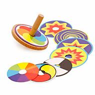 preiswerte Spielzeuge & Spiele-Kreisel Büro Schreibtisch Spielzeug Stress und Angst Relief Hölzern Retro Stücke Kinder Geschenk