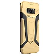 Для samsung galaxy s8 s8 плюс чехол для покрытия брони pc backplane tpu пограничный доспех стент телефон чехол s7 s7edge