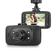 Недорогие Видеорегистраторы для авто-GS8000L 1080p / Full HD 1920 x 1080 Автомобильный видеорегистратор 140° Широкий угол 2.7 дюймовый Капюшон с Ночное видение / G-Sensor /