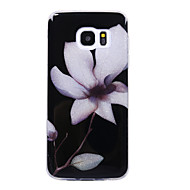 Кейс для Назначение SSamsung Galaxy S8 Plus S8 IMD С узором Задняя крышка Сияние и блеск Цветы Мягкий TPU для S8 S8 Plus S7 edge S7 S6