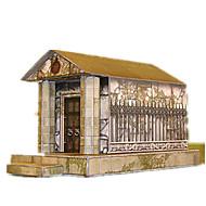 billige Legetøj og hobbyartikler-3D-puslespil Papirkunst Borg Berømt bygning Arkitektur 3D GDS Klassisk Unisex Gave