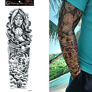 Tetkó matricák Mások Non Toxic Nagy méret Waterproof Női Férfi Tini flash-Tattoo ideiglenes tetoválás