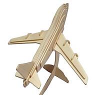 preiswerte Spielzeuge & Spiele-3D - Puzzle Holzpuzzle Holzmodelle Modellbausätze Flugzeug Simulation Heimwerken Holz Naturholz Klassisch Kinder Unisex Geschenk