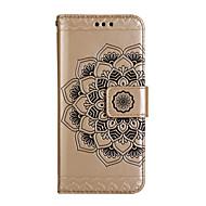 Etui Käyttötarkoitus Samsung Galaxy S8 Plus S8 Lomapkko Korttikotelo Tuella Flip Koristeltu Kuvio Magneetti Kokonaan peittävä Mandala Kova