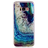 Недорогие Чехлы и кейсы для Galaxy S-Кейс для Назначение SSamsung Galaxy S8 Plus S8 С узором Кейс на заднюю панель Мрамор Мягкий ТПУ для S8 Plus S8 S7 edge S7 S6 edge S6