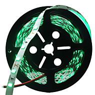 Χαμηλού Κόστους Φωτολωρίδες LED-HKV 300 LEDs Πράσινο Μπλε Κόκκινο Μπορεί να κοπεί Αυτοκόλλητο DC 12V