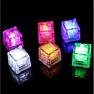 主導素晴らしい点滅ダイヤモンドアイスキューブ - ダース(紫色)