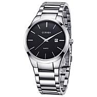 Недорогие Фирменные часы-curren мужские кварцевые спортивные часы / наручные часы календарь / дата / день / креатив / крутая нержавеющая сталь группа люкс / casual / мода /