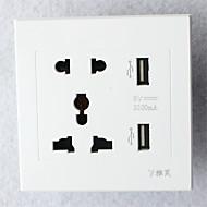 voordelige Schakelaars & Stopcontacten-1pc Hoge kwaliteit Decoratie Stopcontact