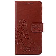 Назначение Чехлы панели Кошелек Бумажник для карт со стендом Флип Рельефный Чехол Кейс для Цветы Твердый Искусственная кожа для AsusAsus