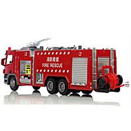 Gegoten voertuigen Speelgoedauto's Speeltjes Motorfietsen Constructievoertuig Brandweerwagen Graafmachine Speeltjes Rechthoekig