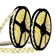 お買い得  -10m フレキシブルLEDライトストリップ 300 LED 5050 SMD 温白色 / ホワイト / ブルー カット可能 / 接続可 / ノンテープ・タイプ 12 V 2pcs