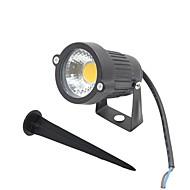 olcso LED projektorok-LED projektorok Forgatható 1 LED COB Meleg fehér Hideg fehér Piros Kék Zöld 300-400lm 2800-6500K AC 85-265 DC 12 AC 12V