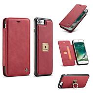 Недорогие Модные популярные товары-Кейс для Назначение iPhone 7 Plus IPhone 7 iPhone 6s Plus iPhone 6 Plus iPhone 6s iPhone 6 Apple iPhone 8 iPhone 8 Plus Бумажник для карт