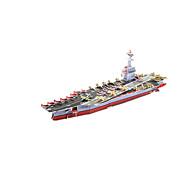お買い得  おもちゃ & ホビーアクセサリー-3Dパズル / モデル作成キット 軍艦 / 航空母艦 / 船 DIY 高品質紙 クラシック 子供用 男女兼用 / 男の子 / 女の子 ギフト