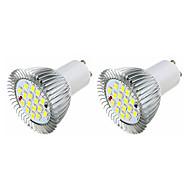 3.5 GU10 LED-spotlampen MR16 16 leds SMD 5630 Warm wit Wit 360-400lm 3000-3500/6000-6500K AC 220-240V