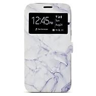 Кейс для Назначение SSamsung Galaxy J7 (2016) J5 (2016) Бумажник для карт со стендом С узором Чехол Мрамор Твердый Искусственная кожа для