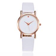 Недорогие Женские часы-Жен. Детские Модные часы Китайский Кварцевый Повседневные часы PU Группа Кулоны минималист Elegant Черный Белый