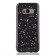 Недорогие Чехлы и кейсы для Galaxy S8 Plus-Кейс для Назначение SSamsung Galaxy S8 Plus S8 Полупрозрачный Кейс на заднюю панель Сияние и блеск Мягкий ТПУ для S8 Plus S8