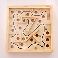 お買い得  おもちゃ & ホビーアクセサリー-ボードゲーム おもちゃ 方形 木製 小品 男女兼用 ギフト