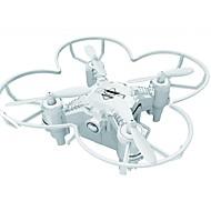 רחפן 124+ 4 ערוצים 6 ציר - תאורת לד חזרה על ידי כפתור אחד מצב ללא ראש טיסת פליפ (התהפכות) 360 מעלותRC Quadcopter שלט רחוק כבל USB