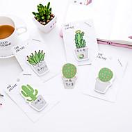 1 PC Cactus Self-Stick Notes 30 Page(Random Color)