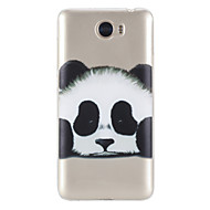 Чехол для huawei y5 ii чехол 5c чехол чехол прозрачный узор задняя крышка чехол panda soft tpu
