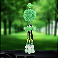 cheap Car Pendants & Ornaments-DIY Automotive Car Pendant Lucky Jade High Fashion Car Pendant & Ornaments Crystal